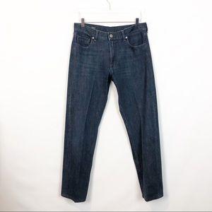 DL Vince Casual Straight Jeans Diablo 33x31